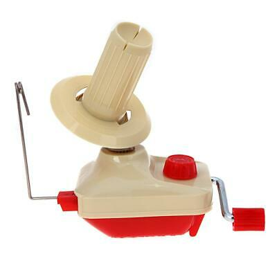 Handheld Yarn Fiber String Ball Wool Winder Holder Tool String Winding Machine