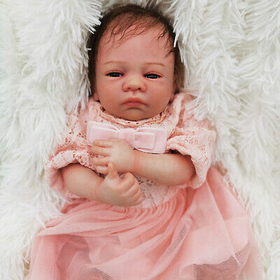 "18"" Realistic Toddler Newborn Girl Doll Accompany Kid Reborn Baby Christmas Gift"