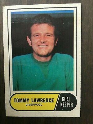 A&BC Green Back 1969 Series 3 (117 to 170) #117 Tommy Lawrence Liverpool
