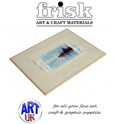 Frisk Artists Lightweight Drawing Board Half or Quarter Imperial Painting Design
