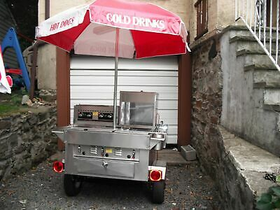 2013 - 4' x 7' Hot Dog / Food Vending Cart for Sale in New York!!!