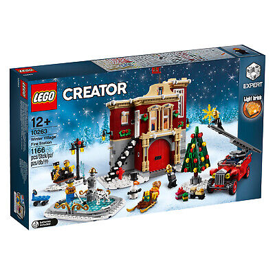 LEGO Creator Expert 10263 Winterliche Feuerwache Winter Village Fire Station NEU