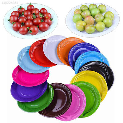 19BE Disposable Dish 20PCS/Set Dishes Paper Plates Cake Party Tableware