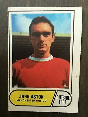 A&BC Green Back 1969 Series 3 (117 to 170) #118 John Aston Manchester United
