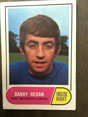 A&BC Green Back 1969 Series 3 (117 to 170) #140 Danny Hegan West Brom WBA