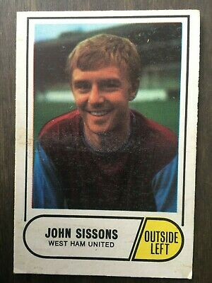 A&BC Green Back 1969 Series 3 (117 to 170) #151 John Sissons West Ham United
