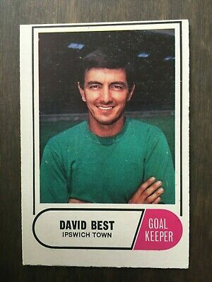 A&BC Green Back 1969 Series 3 (117 to 170) #168 David Best Ipswich Town