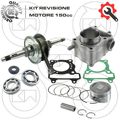 KIT REVISIONE MOTORE TIPO ORIGINALE 150cc D. 57,5 HONDA SH150 ie 2006