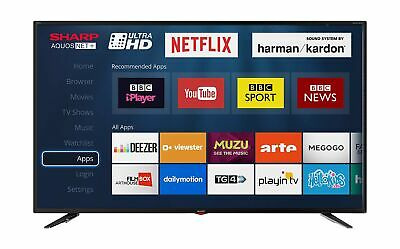 Sharp LC-49UI7352K 4K Ultra HD Smart 49-inch TV with Freeview HD (2018 mode... .