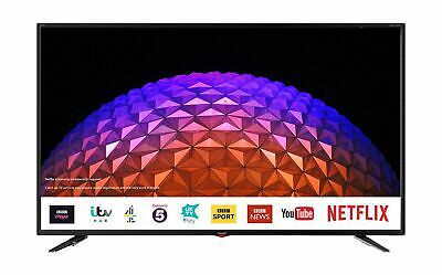 Sharp 4T-C55BJ3KF2FB 55 Inch 4K UHD HDR Smart TV with Freeview Play, 3 x HD... .