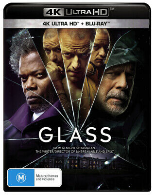 Glass (4K Uhd / Blu-Ray) (2018) [New Bluray]
