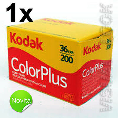 1 Part Film Roll Kodak Colour plus 36 Photo 200 Iso 35 mm Exp 2021