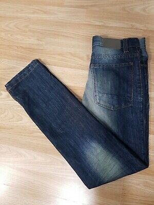 Next Boys Kids Blue Stonewashed Denim Casual Smart Jeans Trousers Age 12 Years