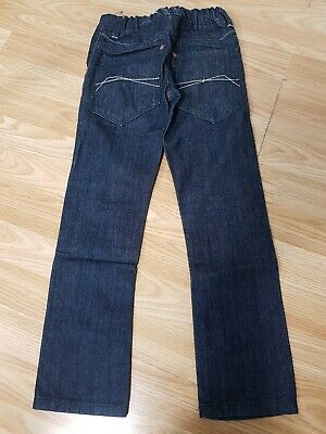 Next Boys Kids Dark Blue Denim Casual Smart Jeans Trousers Age 7 Years