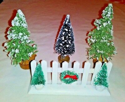 Vintage Folding Wooden Christmas Tree Fence 35 00 Picclick