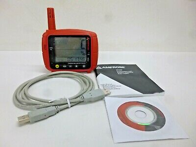 NEW!! AMPROBE Data Logger, Temp and Humidity, Dew Point, TR300