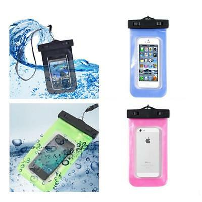 UnderWater Blue Waterproof Dry Pouch Bag Case Cover for Cell Phone Camera SI