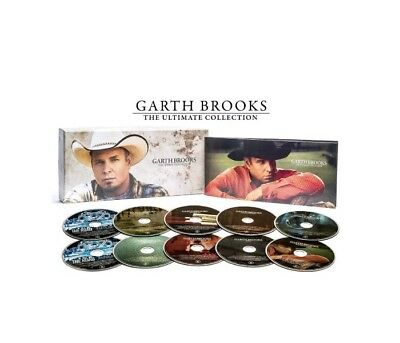 Garth Brooks CD The Ultimate Collection 10 Disc Box Set Country Music Garth Baby