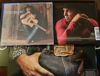 Garth Brooks 2 CD Set CowBoys And Old School Brand New From The Ultimate Set