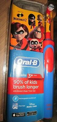 Oral-B Power Stages Kids 3+ Electric Toothbrush Incredible 2