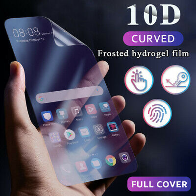 For Samsung Galaxy Note 10 Plus S10 S9 10D Matte Hydrogel Film Screen Protector