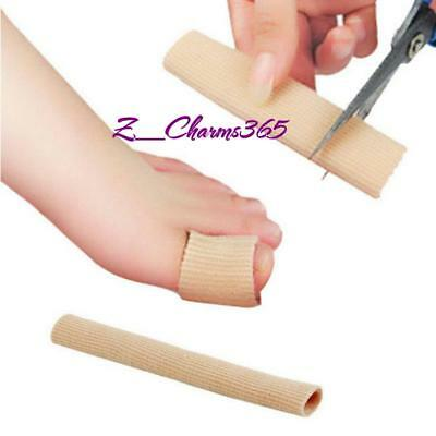 Gel Toe Tube Bandage Sore Finger Cushion Corns Calluses Bunion Blister Pain Cut
