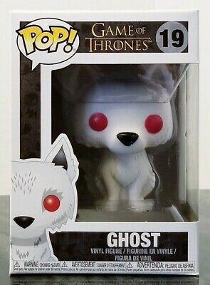 Funko Pop! Game Of Thrones Ghost John Snow's Dire Wolf #19