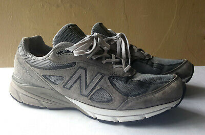 new product 0ba78 9cd1c NEW BALANCE M990GL4 Grey Suede Mens Running 990v4 Made in USA size 12 width  D