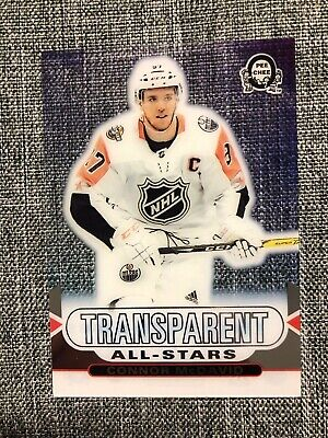 2018-19 Opc Coast To Coast Canadian Tire Transparent All-Stars Connor Mcdavid