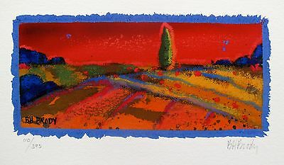 """JEFF CORNELL /""""QUIET TIME/"""" Hand Signed Limited Edition Art Giclee"""