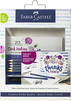 Faber-Castell Greeting Card making For Beginners Crafting Kit NEW NIB
