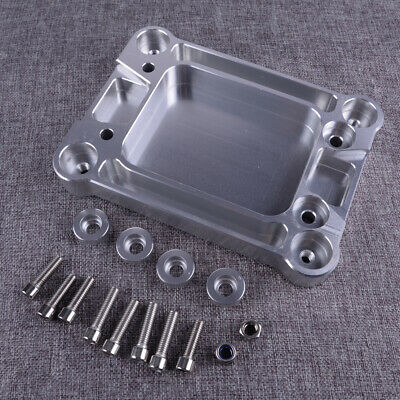 Auto Car Billet Shifter Box Base Plate Fit For Honda Civic Acura K20 K24 K-Serie