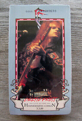 CELTIC FROST - Live at the Hammersmith Odeon 3/3/89 (Cold Lake Tour) VHS Sealed