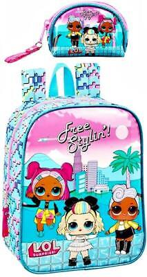 L. O. L. Surprise Mini Mochila Cartera Mochila Infantil Monedero Mochila Lol