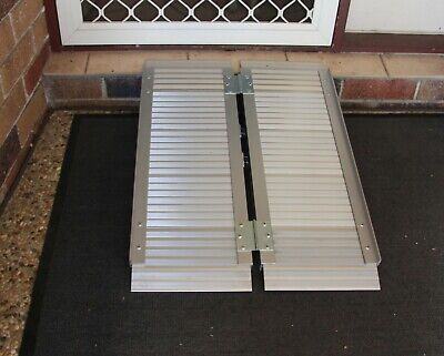Wheelchair Mobility Ramp Scooter Ramps Aluminium Disabled Portable Access NEW