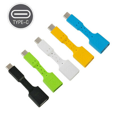 USB-C Type C to USB 3.0 Type A Male-to-Female OTG Data Connector Cable Adapter