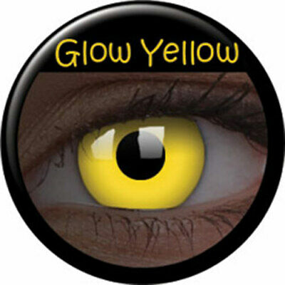 Lentillas Brillo Yellow UV Colourvue (Anuales) phantasee