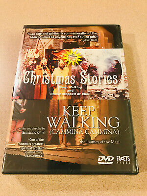 Facets - Christmas Stories 'Keep Walking & Christ Stopped At Eboli' DVD New OOP