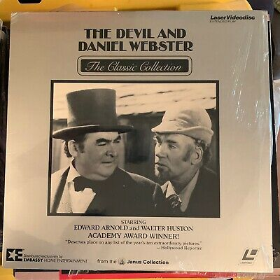 """The Devil And Daniel Webster - 12"""" Laserdisc Buy 6 for free shipping"""