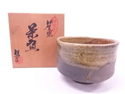 4292515: Japanese Tea Ceremony Iga Ware Tea Bowl / Chawan
