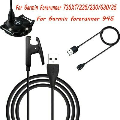 For Garmin Forerunner 945/735XT/235/230/630/35 USB Charger Cable Data Charging
