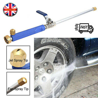 Hydro Jet High Pressure Power Washer Wand Water Spray Nozzle Wand Attachment
