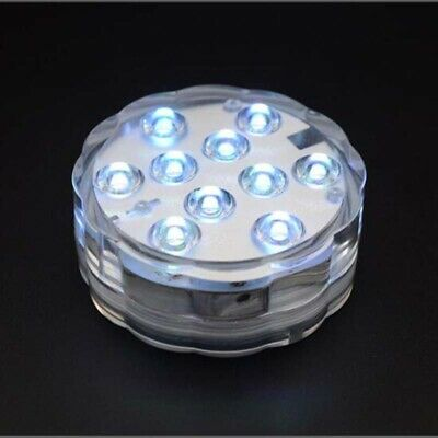 LED Colorful Underwater Waterproof Light Highlight Remote Control Light 1/2/4PC