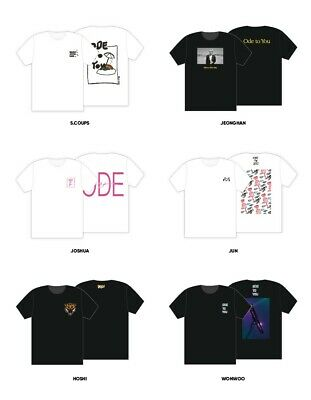 Seventeen Ode To You  World Tour 2019  T-Shirt Limited Edition  Pre Order