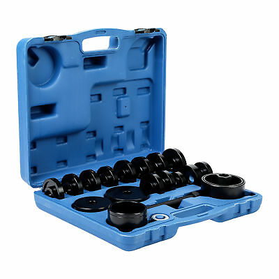 23pcs FWD Front Wheel Bearing Press Kit Removal Adapter Puller Pulley Tools Case
