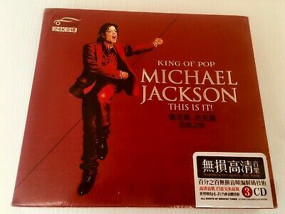 Michael Jackson 3 CD Box Set China Manufacture Brand New Sealed No Promo Rare