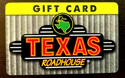Texas Roadhouse Gift Card Mint rechargeable