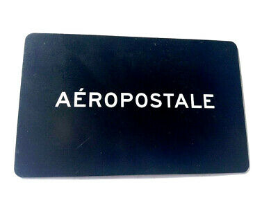 AEROPOSTALE Gift Card New No Value---0---BALANCE RECHARGEABLE
