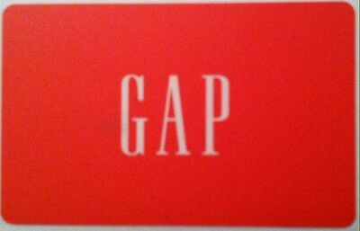 Gap Mint Gift Card Red From Canada Bilingual No Value Rechargeable !