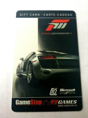 Eb Games Gamestop Microsoft Forza Motorsport 3 Racing Rechargeable !